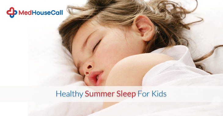 Healthy Summer Sleep For Kids